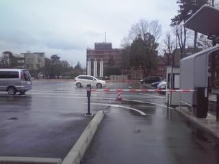しいのき迎賓館駐車場